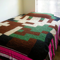 Custom Pixel Afghan Link by NikisKnerdyKnitting on Etsy
