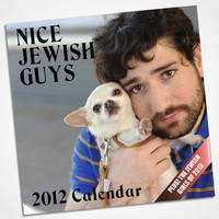 Nice Jewish Guys Calendar | Shop 2012 Calendars Now | fredflare.com