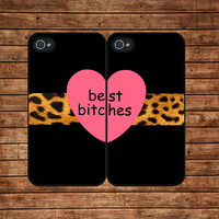 BEST BITCHES--iphone 4 case,iphone 4s case  ,in plastic or silicone case