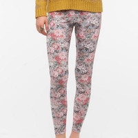 BDG Tiled Floral High-Rise Legging