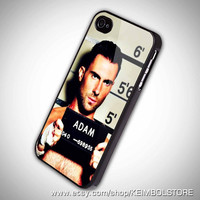Adam Levine, Maroon 5 iPhone 5 Case, iPhone 4 Case, iPhone 4s Case, iPhone 4 Cover, Hard iPhone 4 Case