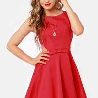 Queen of Swing Red Dress