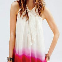 NWT Free People Dip Dye Tunic Size Large Awesome Love it $98