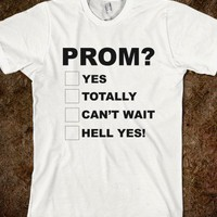 Promposal - teeshirttime