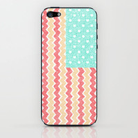 Zig Zag Flag. iPhone &amp; iPod Skin by Nick Nelson | Society6
