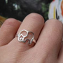 accessoryinlove — Cute 925 Sterling Silver Elephant Ring