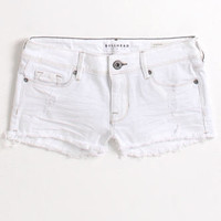 Bullhead Bright White Fray Hem Shorts at PacSun.com