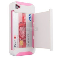 White/Pink Credit Card H...