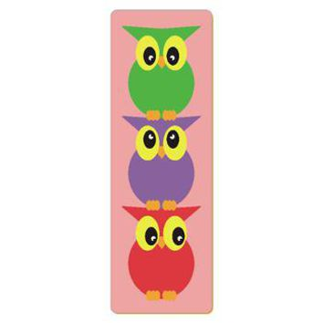 Cute owls yoga mat gt whimsical owl family gt circusvalleymall