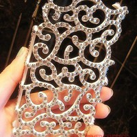3D handmade bling hollow...