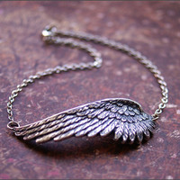 ANGEL WING ANKLETBeautiful Ankle Bracelet by RevelleRoseJewelry