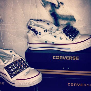 Studded Converse Shoe