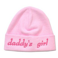 Itty Bitty Baby Pink Daddy's Girl Cap