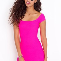 Neon Lights Dress in  Clothes Dresses at Nasty Gal