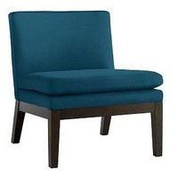 Upholstered Slipper Chair | west elm - Polyvore