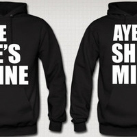 aye he is mine aye she is mine