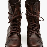 Troopa Combat Boot - Brown