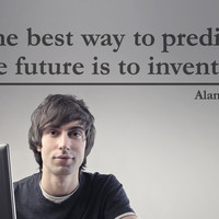 The best way to predict the future... - Wall Quote Decal