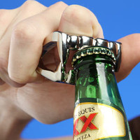 ThinkGeek :: Bite Me Vampire Bottle Opener