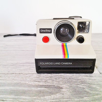 Vintage One Step Polaroid Land Camera
