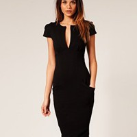 ASOS | ASOS Sexy Pencil Dress with Pockets at ASOS
