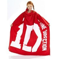 One Direction Fleece Sleeved Blanket