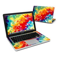 Tie Dyed Design Protector Skin Decal Sticker for Apple MacBook PRO 13 inch Aluminum (w/ SD card slot released in 2009)