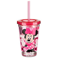 Disney Minnie Mouse Tumbler with Straw -- Small | Disney Store