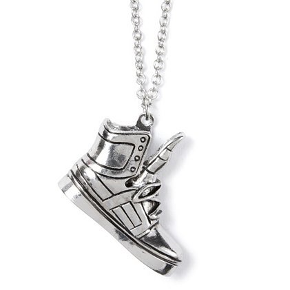 justin bieber shoe pendant necklace from s epic