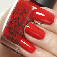 OPI Nail Polish (N25-Big Apple Red) *HOT* Classic Collection