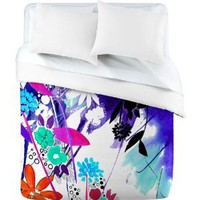 DENY Designs Holly Sharpe Captivate Floral Duvet Cover