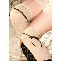 Step In Time Knee Socks - Stockings &amp; Spats - Footwear