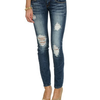 Triple Stitch Skinny Jean | Shop Just Arrived at Wet Seal