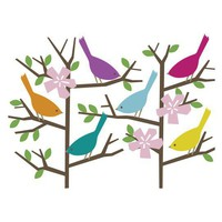 DwellStudio | SPARROW WALL DECALS - Wall Decor - Decor