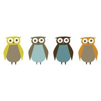 DwellStudio | OWLS WALL DECALS - Wall Decor - Decor