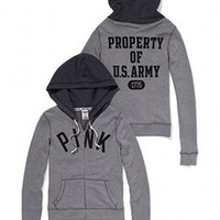Army Perfect Zip Hoodie - PINK - Victoria's Secret