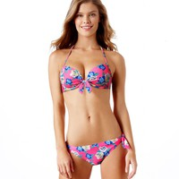 Brooke Pushup Floral Bikini Top | American Eagle Outfitters
