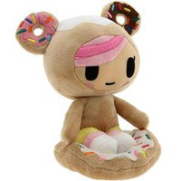Tokidoki Donutella Plush Toy (brown / pink)