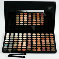 Pro 88 Warm Colors Makeup Eyeshadow Palette Kit 115E2