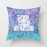 Typography Throw Pillows | Society6