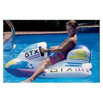 Amazon.com: GTX Wet Ski Inflatable Ride-On 1 White: Toys & Games