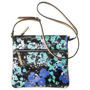 Merona® Floral Crossbody Handbag - Blue