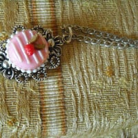 One necklace with cake by ValeviL on Etsy
