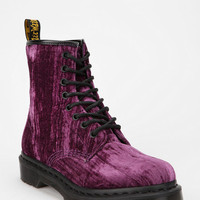 Urban Outfitters - Dr. Martens 8-Eye Crushed Velvet Boot
