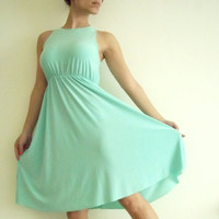 Mint Maternity Dress Classic &#x27;Rainbow&#x27; Dress