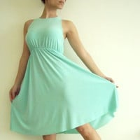 Mint Maternity Dress Classic 'Rainbow' Dress