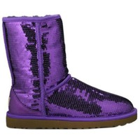 UGG Sparkle Sequin Purpl...