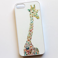 giraffe iphone 5 case giraffe iphone 4 case giraffe by BunnyCover