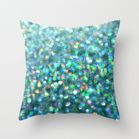 Under the Sea... Throw Pillow by Lisa Argyropoulos | Society6