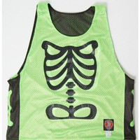 Neon Green and Black Bones